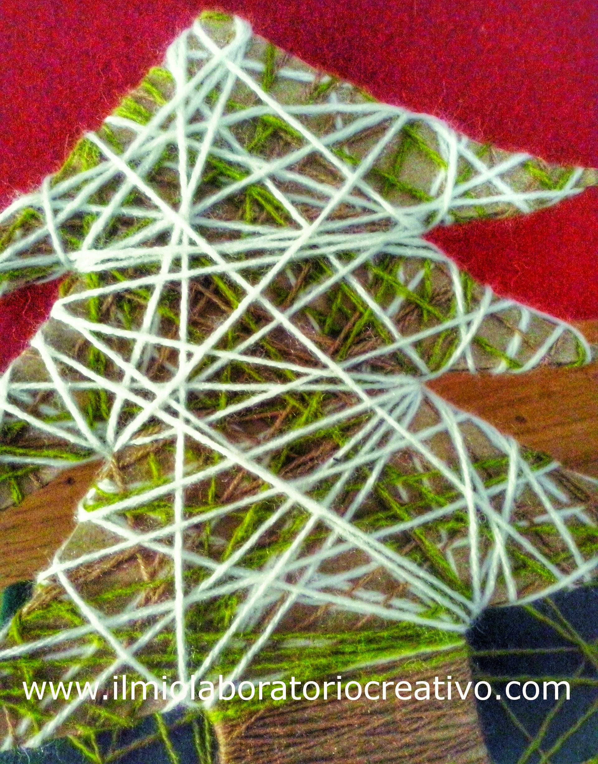 idee natalizie per bambini….con filo di lana
